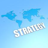 Strategy world map