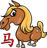 horse chinese zodiac horoscope sign