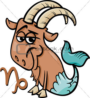 capricorn or the sea goat zodiac sign