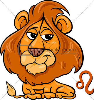 leo or the lion zodiac sign
