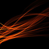 abstract background fiery illusion