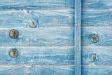blue weathered wood