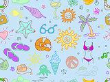 Doodle travel pattern