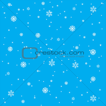 Background from snowflake