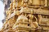 Sri Subramaniar Temple Exterior Closeup