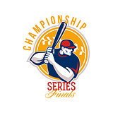 Championship Baseball Series Finals Retro