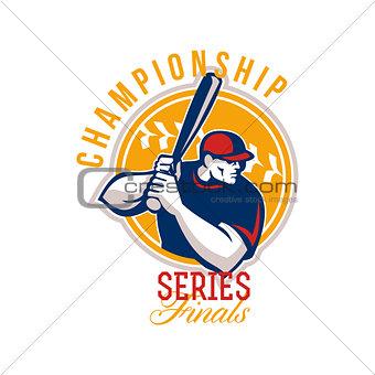 Championship Baseball Series Finals Retro