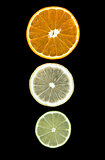 lemon lime orange slices