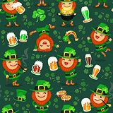 st.Patrick's Day's pattern