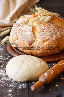 Fresh bread.