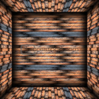 abstract tiled interior backdrop