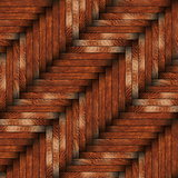 tiled wooden surface