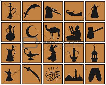 arabian symbols