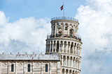 Closeup Leaning Tower Pisa