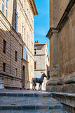 Houses in Pienza