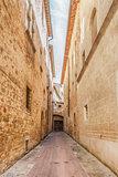 Narrow street Pienza
