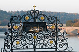art details of Charles Bridge -  Prague