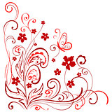 floral pattern for design