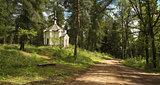 Chapel on the roadside.