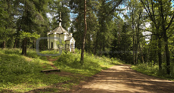 Chapel on the roadside.