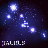 taurus zodiac sign of the beautiful bright stars