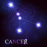 cancer zodiac sign of the beautiful bright stars