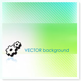 Gear on Vector Background