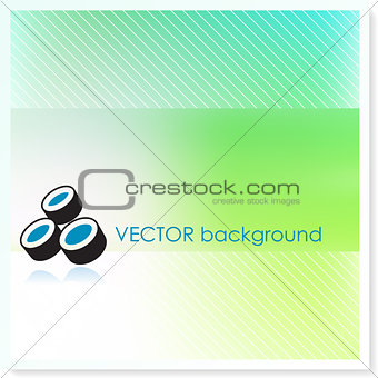 Chart on Vector Background