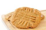 Fresh baked peanut butter cookies