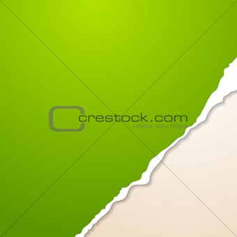 Abstract vector paper background