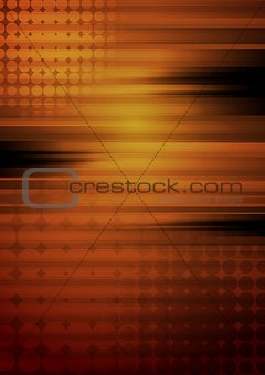 Abstract grunge tech vector design