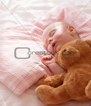 Little baby asleep