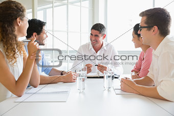 Business people in conference meeting