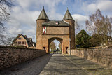 Klever city gate in the old roman city of Xanten