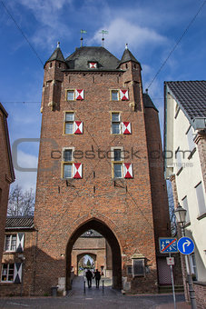 Klever tor in the old roman city of Xanten