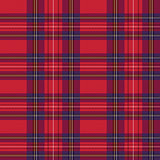 Rectangular tartan red fabric seamless texture