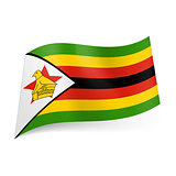 State flag of Zimbabwe