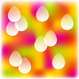 easter colorful background