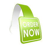Order now hang label