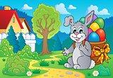 Easter bunny theme image 7