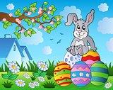 Easter bunny theme image 9