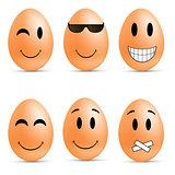Egg smileys
