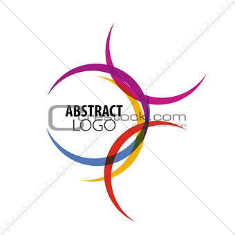abstract logo of colored circles