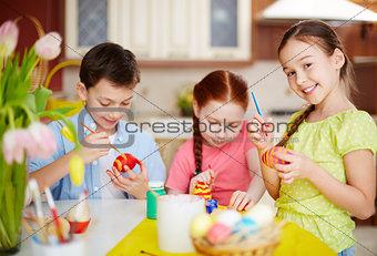 Easter schoolwork