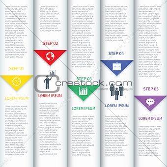 Modern Minimalistic Infographic Template