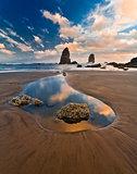 Haystack Rock. Oregon