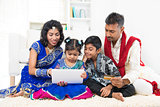 Indian family online shopping