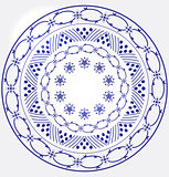 Monochrome Circular Design