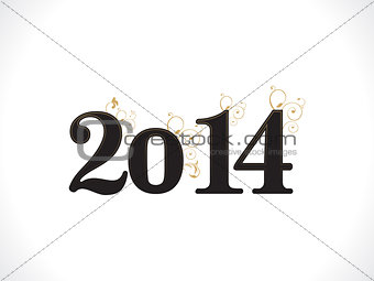 abstract new year template