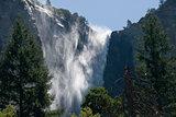 Sentinel falls at Yosemite - 1